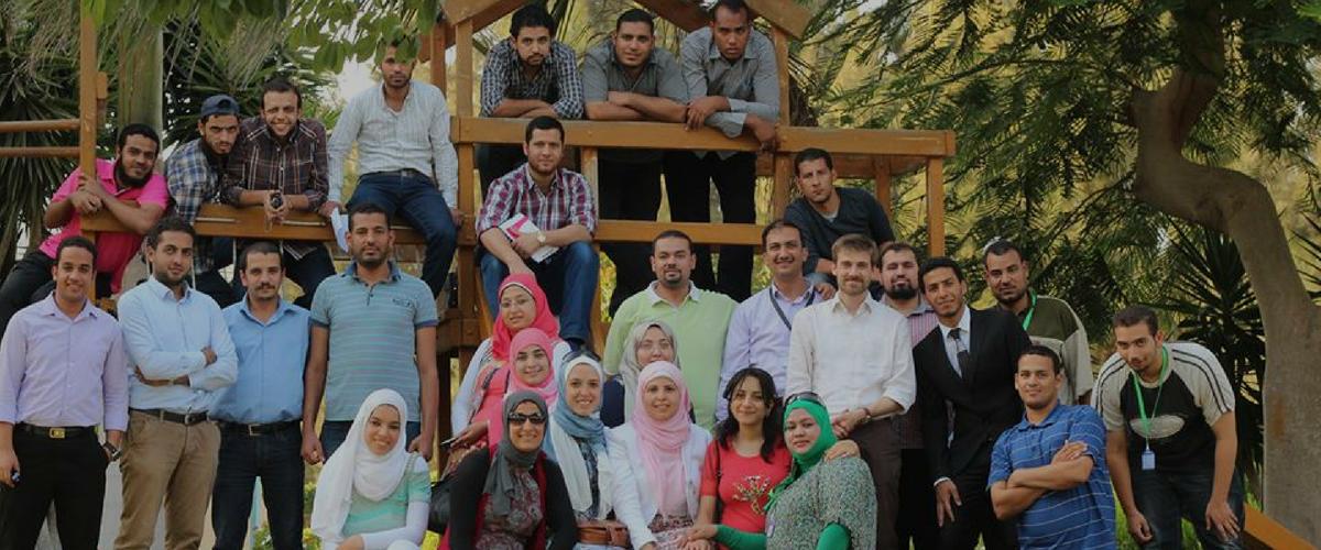 Tanaghom school 2014  Ismailya – Egypt